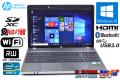 中古ノートパソコン HP ProBook 4530s Core i5 2430M (2.40GHz) メモリ4GB マルチ Bluetooth WiFi カメラ USB3.0 Windows10 64bit