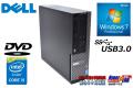 Windows7 32bit 中古パソコン DELL OPTIPLEX 3020 SF Core i5 4570 HDD500GB メモリ4G USB3.0