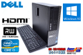 Windows10 64bit 中古パソコン DELL OPTIPLEX 3010 Core i3-3220(3.30GHz) メモリ4G HDD250GB マルチ HDMI