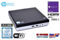 小型 中古パソコン HP ProDesk 400 G4 DM 第8世代 6コア Core i5 8500T メモリ8G M.2SSD256G USB3.1 HDMI Windows10 11UP可
