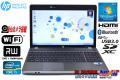 Windows7 64bit 中古ノートパソコン HP ProBook 4530s Core i5 2430M (2.40GHz) メモリ4GB マルチ WiFi Bluetooth USB3.0 カメラ 32bitリカバリ付