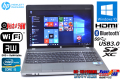 中古ノートパソコン HP ProBook 4530s Core i5 2430M (2.40GHz) メモリ4GB マルチ WiFi Bluetooth USB3.0 カメラ Windows10