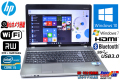 Windows10 中古ノートパソコン HP ProBook 4530s Core i5 2430M(2.40GHz) メモリ4GB マルチ WiFi Bluetooth カメラ USB3.0 Windows7