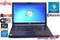 中古ノートパソコン 富士通 LIFEBOOK A553/H Celeron 1000M (1.80GHz) Windows7 64bit メモリ4GB マルチ WiFi カメラ Bluetooth