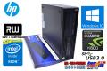 Windows10 64bit HP Z230 SFF WorkStation Xeon E3-1270 v3 (3.50GHz)  メモリ8GB マルチ USB3.0 Quadro K600 中古ワークステーション