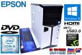 第6世代 SkyLake 中古パソコン EPSON Endeavor MR7400 Core i5 6500 (3.20GHz) GeForceGTX960 メモリ4GB HDD1TB USB3.0 Windows10 64bit