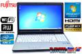 メモリ8G フルHD液晶 中古ノートパソコン 富士通 LIFEBOOK E741/D Core i7 2640M(2.80GHz) マルチ WiFi Windows7 64bit
