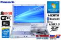 パナソニック 中古ノートパソコン Let's note SX3 Core i5 4300U (1.90GHz) メモリ4G Windows7 WiFi マルチ カメラ Bluetooth USB3.0 Lバッテリー