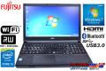 富士通ノートパソコン LIFEBOOK A574/KX Core i5 4310M(2.70GHz) メモリ4GB マルチ WiFi USB3.0 Bluetooth Windows7