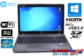 新品バッテリー付 中古ノートパソコン HP ProBook 4540s Core i5 3210M (2.50GHz) Windows7 32bit メモリ4G マルチ WiFi USB3.0