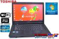 東芝ノートパソコン Windows 7 64bit dynabook Satellite B551/C Core i5-2410M(2.30GHz)  メモリ4G HDD250GB マルチ WiFi 15.6インチ