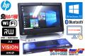 タッチパネル 20型ワイド液晶一体型パソコン HP TouchSmart 320-1120jp AMD A4-3420 (2.80GHz) メモリ4GB HDD1TB WiFi カメラ BT Windows10 64bit