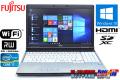 Windows10 64bit 中古ノートパソコン 富士通 LIFEBOOK E741/D Core i7 2640M(2.80GHz) メモリ4G マルチ WiFi HDMI テンキー