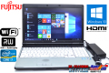 アウトレット Windows10 64bit 中古ノートパソコン 富士通 LIFEBOOK E741/D Core i7 2640M(2.80GHz) メモリ2G マルチ WiFi HDMI テンキー 訳あり
