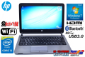 Windows7 中古モバイルノート HP ProBook 430 G1 Core i5 4300U(1.90GHz) メモリ4G WiFi Bluetooth カメラ USB3.0