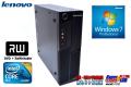 Windows7 中古パソコン レノボ ThinkCentre A58 Small Core2Duo E7500 (2.93GHz) メモリ2G マルチ HDD160GB