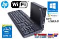 WiFi搭載 中古パソコン HP ProDesk 400 G1 DM Core i5 4590T (2.00GHz) Windows10 メモリ4G HDD500GB Windows7/8.1リカバリ 超小型PC