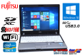 SSD搭載 中古ノートパソコン Windows10 64bit 富士通 LIFEBOOK P772/F Core i3 3110M (2.40GHz) メモリ4G WiFi USB3.0 Webカメラ