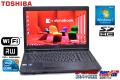 15.6型ワイドHD+ 中古ノートパソコン Core i7 640M (2.8GHz) TOSHIBA dynabook Satellite B650/B メモリ2G HDD250G WiFi マルチ Windows7