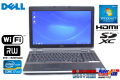 中古ノートパソコン Core i7-2620M (2.70GHz) DELL Latitude E6520 メモリ4G マルチ WiFi Windows7 64bit