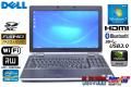 中古ノートパソコン フルHD 4コア8スレッド Core i7 3720QM DELL Latitude E6530 メモリ8G マルチ WiFi USB3.0 Bluetooth NVIDIA Windows7 64bit