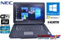 良品 中古ノートパソコン NEC VersaPro VK25T/L-E Corei5 3210M (2.5GHz) Windows10 メモリ4G WiFi マルチ 15.6型ワイド Windows7リカバリ付