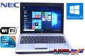 アウトレット 中古ノートパソコン NEC VersaPro VK13M/BB-B Core i5 560UM (1.33GHz) Windows10 WiFi メモリ2G 12.1型ワイド 軽量モバイル