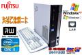 WindowsXP 中古パソコン 富士通 ESPRIMO D581/C Core i3-2100 (3.10GHz)メモリ4GB  マルチ シリアル パラレル Windows7リカバリ付