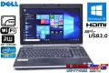 新品SSD 中古ノートパソコン Core i7-3520M (2.90GHz) DELL LATITUDE E6530 メモリ4G Windows10 64bit マルチ WiFi USB3.0 テンキー