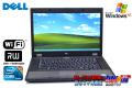 中古ノートパソコン WindowsXP DELL Latitude E5510 Core i5 520M (2.40GHz) メモリ2G マルチ WiFi 15.6型液晶 リカバリ付属