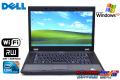 WindowsXP 中古ノートパソコン DELL Latitude E5510 Core i5 520M (2.40GHz) メモリ2G マルチ WiFi Windows7付