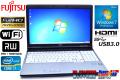 フルHD 良品 中古ノートパソコン 富士通 LIFEBOOK E742/E Core i7 3520M (2.90GHz) Windows7 64bit メモリ4G マルチ WiFi USB3.0