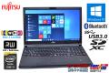 中古ノートパソコン Core i5 4310M (2.70GHz) WiFi (11ac) 富士通 LIFEBOOK E554/J メモリ4G マルチ USB3.0 Bluetooth
