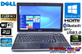 フルHD 中古ノートパソコン DELL Latitude E6530 Core i7-3720QM (2.60GHz) Windows10 64bit メモリ4G マルチ WiFi USB3.0 Bluetooth NVIDIA