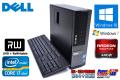 メモリ8G 中古パソコン DELL OPTIPLEX 990 SF 4コア8スレッド Core i7 2600 (3.40GHz) Windows10 64bit HDD500GB マルチ Radeon 小型・高性能  Windows7付