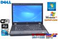 Windows7 中古ノートパソコン WindowsXP リカバリ付属 DELL Latitude E5510 Core i5 520M (2.40GHz) メモリ4G マルチ WiFi 15.6型液晶