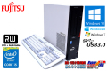 Windows10 8 7 中古パソコン 富士通 ESPRIMO D583GX 第4世代 クアッドコア Core i5-4570 (3.20GHz) メモリ4G DVDマルチ USB3.0