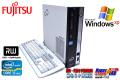 WindowsXP シリアル/パラレル 中古パソコン 富士通 ESPRIMO D751/C  クアッドコア Core i5 2400 (3.10GHz) メモリ2G マルチ DtoD