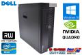 メモリ32G Quadro K4000 中古パソコン DELL PRECISION T3610 Xeon E5 1620 V2 (3.70GHz) 新品SSD256G HDD500G DVDマルチ Windows10 Pro ワークステーション