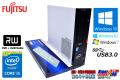中古パソコン 富士通 ESPRIMO D583HX Core i5-4570 (3.20GHz) Windows10 64bit メモリ4G HDD500G マルチ USB3.0 Windows7/8.1可