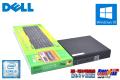 超小型 メモリ16G M.2SSD&HDD 中古パソコン DELL OPTIPLEX 7040M Core i5 6500T (2.50GHz) Windows10 64bit