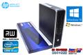 小型 中古パソコン HP 8200 Elite us 4コア Core i5 2500s (2.70GHz) Windows10 メモリ4G マルチ Windows7リカバリ付