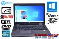 新品SSD Windows10 中古ノートパソコン HP ProBook 6570b Core i5 3230M (2.60GHz) メモリ4G DVD WiFi USB3.0