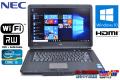 中古ノートパソコン NEC VersaPro VJ24T/L-D Corei5 2430M (2.4GHz) Windows10 64bit メモリ2G マルチ WiFi 15.6型ワイド