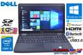 高速WiFi 11ac アウトレット 中古ノートパソコン デル Latitude E5550 第5世代 Core i5 5300U (2.30GHz) Windows10 メモリ4G USB3.0 Bluetooth Windows7/8.1リカバリ付 訳あり