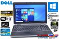 フルHD 4コア8スレッド 中古ノートパソコン DELL Latitude E6530 Core i7-3740QM (2.70GHz) Windows10 64bit メモリ4G マルチ WiFi USB3.0 BT NVIDIA