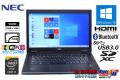 WQHD液晶 SSD 中古ノートパソコン NEC VersaPro VK22T/G-L Core i5 5200U (2.20GHz) Windows10 WiFi(ac) メモリ4G USB3.0 Bluetooth 薄型・軽量