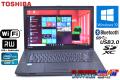 中古ノートパソコン 良品 東芝 dynabook Satellite B553/J Core i5 3230M (2.60GHz) メモリ4G WiFi マルチ BT USB3.0 Windows10 64bit