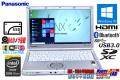 新品SSD 中古ノートパソコン Panasonic Let's note NX4 Core i5 5300U (2.30GHz) メモリ4G WiFi(ac) Bluetooth USB3.0 Lバッテリー Windows10