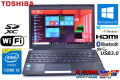 東芝 中古ノートパソコン dynabook R734/M Core i5 4310M (2.70GHz) Windows10 64bit メモリ4GB WiFi Bluetooth USB3.0 Windows 8.1リカバリ付